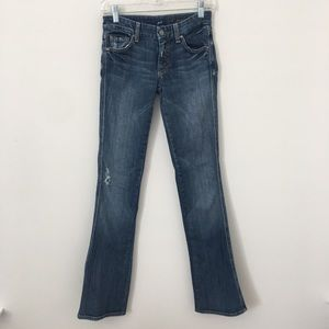 7 For All Mankind Size 25 A Pocket Jeans